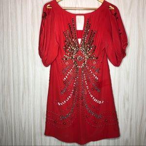 Nanette Lepore Embelloshed Dress Size 4